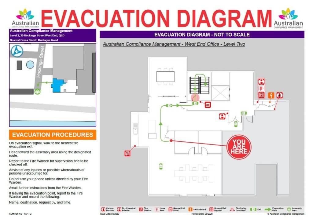 Example Evacuation Diargram